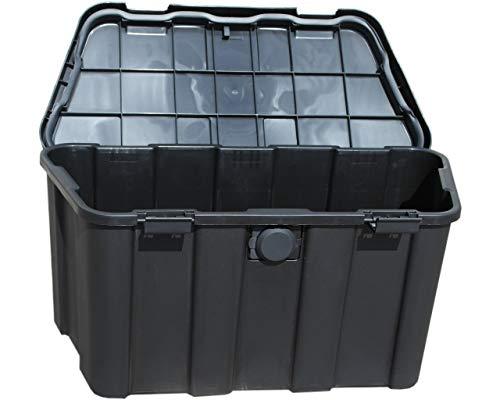 HGW Anhängerbox,Gurtkiste, Deichselbox 45 Liter, inkl. Befestigungsmaterial - 4