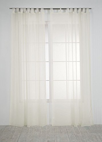 Rioma Brisa - Cortina visillo, Beige, 140 x 270 cm