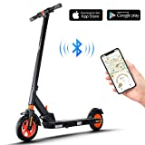 urbetter Electric Scooters Adults 350W Motor, 25km Long Range Folding Electric Kick Scooter 8 inches Honeycomb Tires, 3 Speed Adjustment Modes, Kirin S1