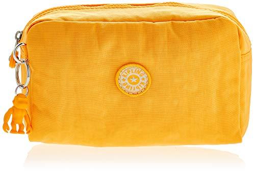 Kipling Damen Gleam Münzbörse Gelb (Vivid Yellow)