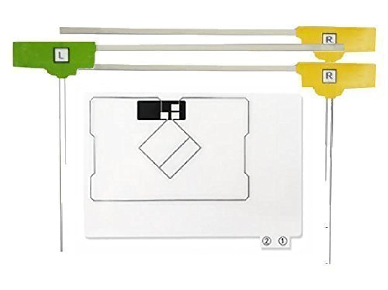 開いた奇跡的な矢印AVN669HD 対応 GPS一体型 フィルム アンテナ 地デジ 4ch フルセグ 対応 【低価格高品質タイプ】 【イクリプス】