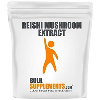 BulkSupplements.com Reishi Mushroom Extract Powder - Superfood Powder - Ganoderma Lucidum - Mushroom Immune Support - Reishi Powder  500 Grams - 1.1 lbs