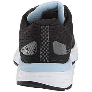New Balance Women's 680v6 Cushioning Running Shoe, Black/air, 8.5 D US