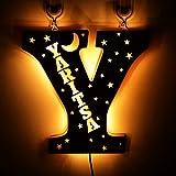Luces LED para letras de marquesina 26 Alfabeto iluminado Letras de marquesina Letrero para boda Fiesta de cumpleaños Lámpara de Navidad alimentada por USB Luz de noche Decoración de bar en casa