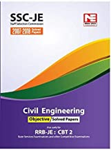 SSC (RRB-JE) : Civil Engineering Objective Solved Papers