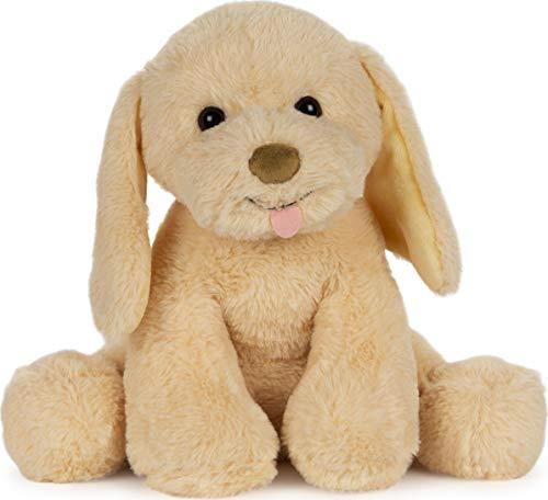 """GUND Animated My Pet Puddles Puppy Plush Stuffed Animal, Yellow, 12"""""""