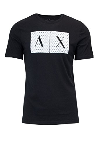 Armani Exchange Herren 8NZTCK T-Shirt, Schwarz (Black 1200), XX-Large