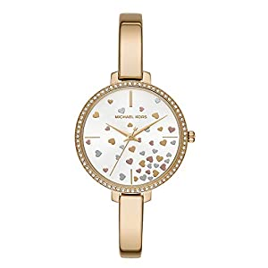 Michael Kors Reloj Analógico para Mujer de Cuarzo con Correa en Acero