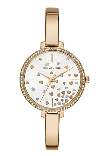 Michael Kors dames analoog kwarts horloge met roestvrij stalen armband MK3977