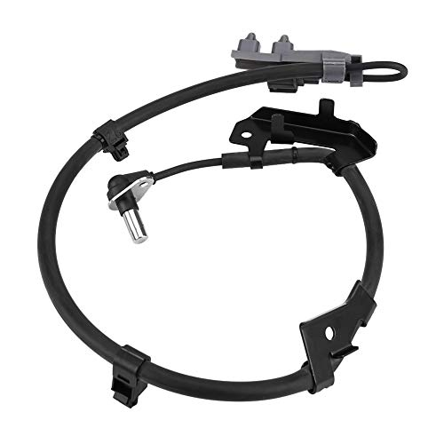 Terisass Car Speed Sensor 897387990 Vehicle Front Left ABS Wheel Speed Anti-Skid Sensor Auto Speed Transmission Sensor Wire Harness Fit for Isuzu D-Max Danver Rodeo 2003-2006 Pick Up 2006-2012