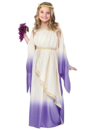 Fun World Girls Purple Goddess Costume Large (12-14)