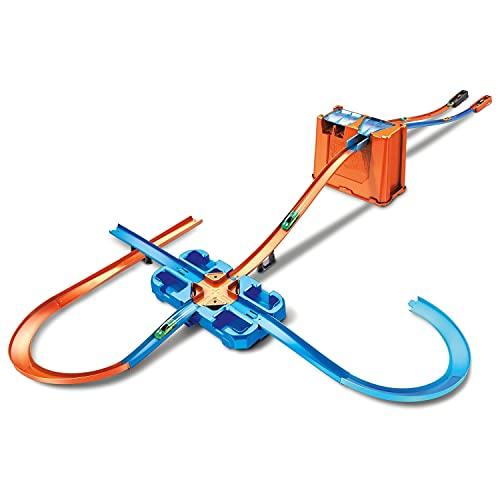 Hot Wheels - Track Buider Caja de Acrobacias Deluxe, Accesorios para Pistas de Coches de Juguete (Mattel GGP93) , color/modelo surtido