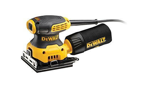 Dewalt DWE6411-QS DWE6411-QS-Lijadora Orbital 230W, 230 W, 220 V, Giallo/Nero, 115 x...