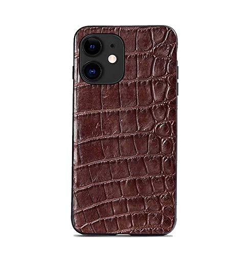fundas iphone 11 max piel de cocodrilo fabricante WUTONG