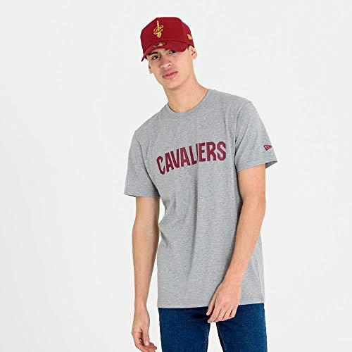 New Era NBA CLEVELAND CAVALIERS Team Gray Tee T-Shirt, Größe:XL