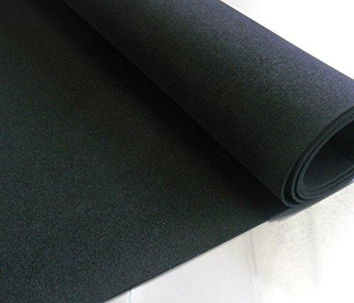 EPDM Zellkautschuk 5mm Stärke 0,5mx1m schwarz