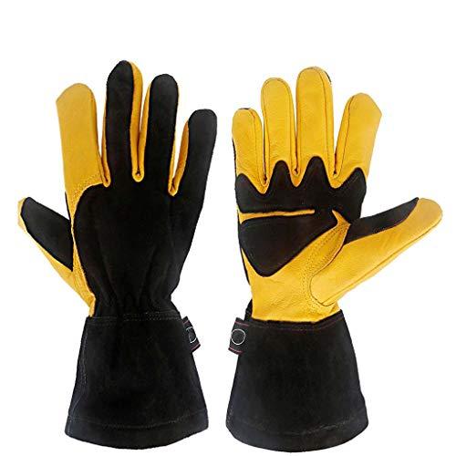 ZhuFengshop handschoenen idee voor werk handschoenen beschermende handschoenen vloeibare stikstof, bevroren koude opslag handschoenen beste tuin geschenken & gereedschap voor tuinman en boer beschermende handschoenen, werk, boerderij