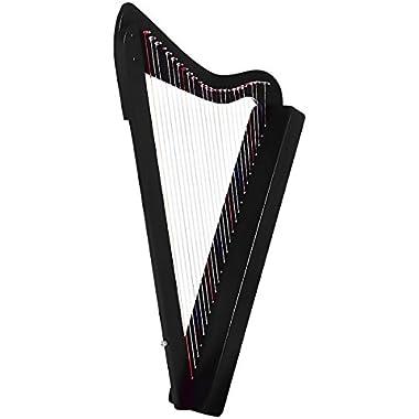 Rees Harps Harpsicle Harp Black