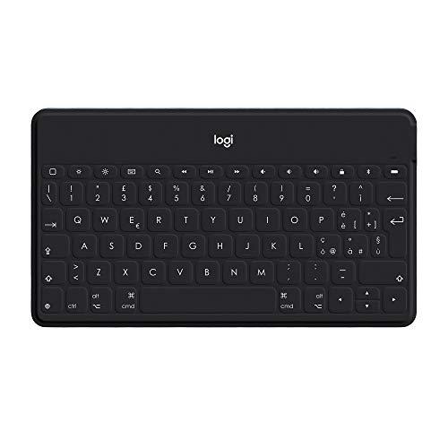 Logitech Keys-To-Go è una tastiera sottile e leggera da portare con te per tutto il giorno, perfetta per lavorare o studiare in giardino ma anche per l'ufficio