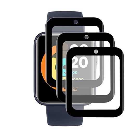 【 3 Pezzi 】 Schutzfolie Kompatibel mit Xiaomi Mi Watch Lite Display schutzfolie