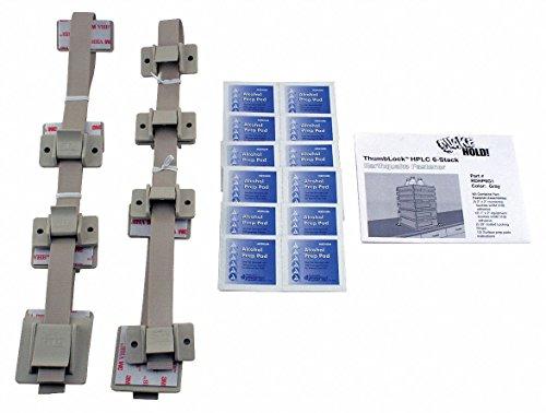 Quakehold! 4164 Furniture Strap Kit, White by Quakehold! (English Manual)