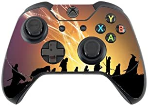 LOTR Fellowship of The Ring Heroes Silhouettes Vinyl Decal Sticker Skin by Trendy Accessories for Xbox One Controller