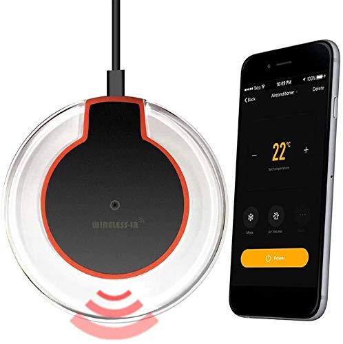 Docooler WiFi IR Fernbedienung IR-Kontroll-Hub WLAN Aktiviert Infrarot Fernbedienung für Klimaanlage TV DVD mit Tuya Smart Life APP Kompatibel mit Alexa Google Home IFTTT Voice Control