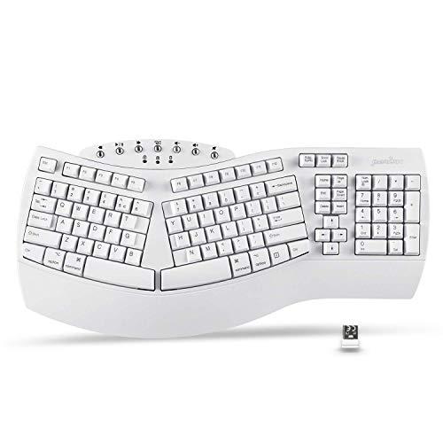 Perixx Periboard-612 Wireless Ergonomic Split Keyboard (Renewed)