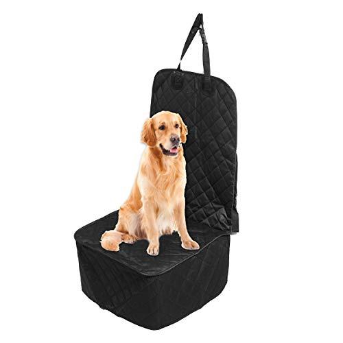 AAlamor waterdichte huisdier hond auto voorzijde stoelhoes beschermer voering stoelen hoezen kussen mat