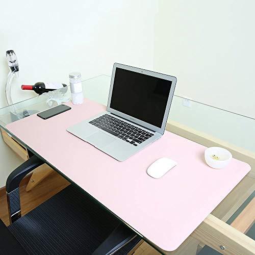 JIAN YA NA - Alfombrilla para ratón de Piel sintética Resistente al Agua, para Escribir, la Oficina y el hogar, Ultrafina de 2 mm