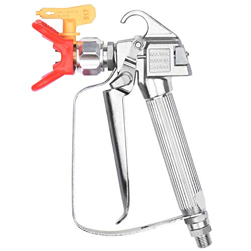 JWGJW Airless Paint Spray Gun With 517 Tip for Graco Wagner Titan Sprayer