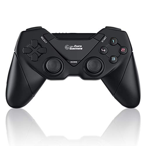 RPM Euro Games PC Controller Wireless for Windows - 7, 8, 8.1 and 10, Ps3 Gamepad