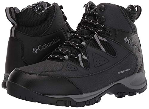 Columbia Men's Liftop III Snow Boot, Black, ti Grey Steel, 10