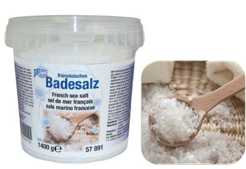 Creartec Frans badzout (kristalhelder - natuurlijk) 700 g