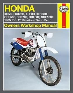 Haynes Repair Manual for Honda XR50R - XR100R & CRF50F - CRF100F (1985-2016)
