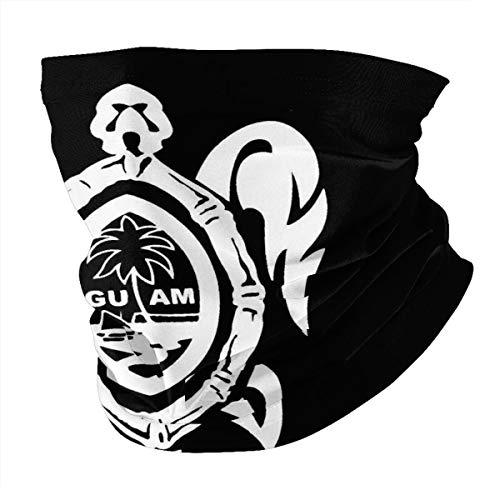 Antokos Guam Seal In A Tribal Turtle Unisex Reutilizable Ajustable Cara Cubierta Bufanda Protección UV Cuello Pasamontañas Variedad Impreso Bufanda Cabeza