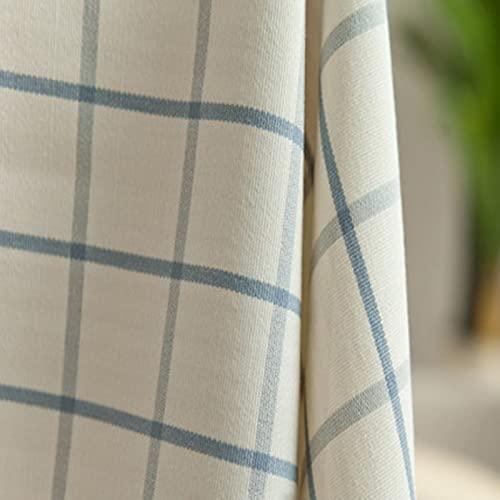 LIUJIU Linen & Cotton - Tovaglia in tela per la tavola, misura piccola, quadrata, per la casa, la cucina, il tavolino da caffè, 100 x 160 cm