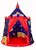 Humanity Universum-Spiel-Zelt, Castle House Palace Zelt Kinderspielhaus, Schloss Indoor- und Outdoor tragbare Kinder Spielzeug-Zelt, Faltbarer Kinderspielzelt for Jungen und Mädchen