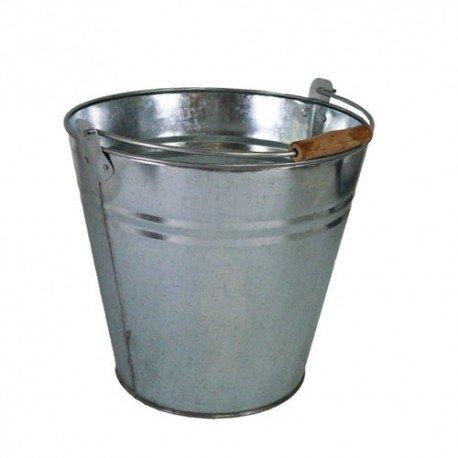 AUBRY GASPARD - Seau en Zinc de 12 litres - Gris - 2.3 kg