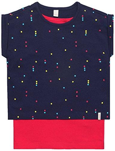 ESPRIT KIDS Mädchen RL1016301 T-Shirt, Blau (Persian Ink 484), 116 (Herstellergröße: 116/122)