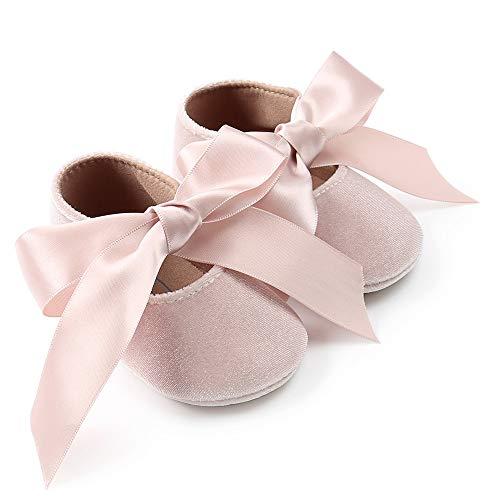 Zapatos bebé, niña Princesa terciopelo bowknot niño