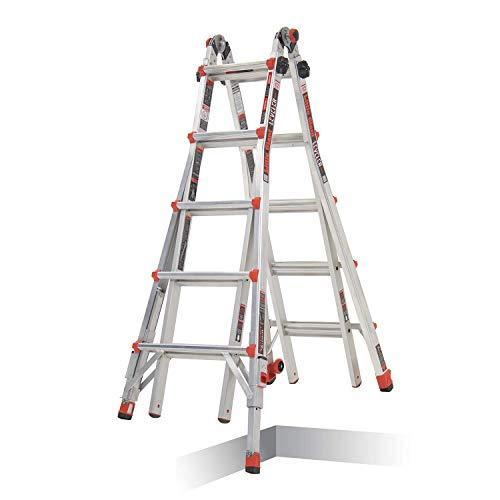 Little Giant 5 Tread Leveler Multi-Purpose Ladder c/w Leg...
