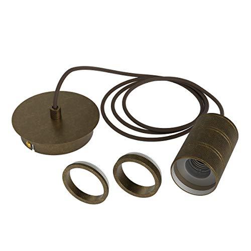 Calex Retro pendel, brons fitting E27 (2 mtr. snoer)