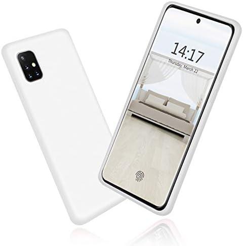 abitku Galaxy A51 Case Galaxy A51 Case Silicone Slim Gel Rubber Shockproof Soft Microfiber Cloth product image