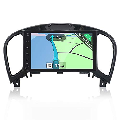 YUNTX Android 10 Autoradio Compatible avec Nissan Juke (2010-2014) YF15 Infiniti ESQ - GPS 2 Din - Caméra arrière & Micro Gratuits -Soutien DAB Commande au Volant  4G WiFi Bluetooth Mirrorlink Carplay