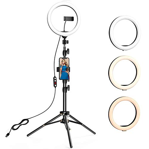 ANBES 10.2 inch Selfie Ring Light w…
