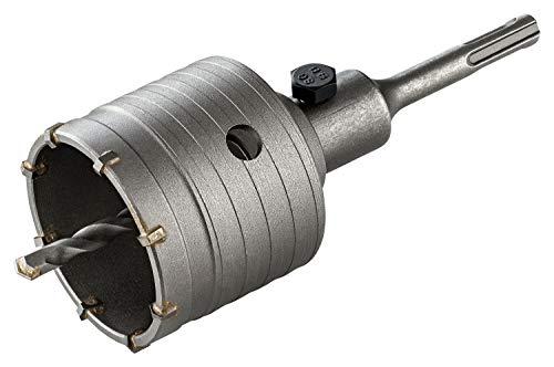 RENOPAX Bohrkrone 68mm - verstärkte Bauart - Hammerschlagfest - 2 Schneiden Zentrierbohrer - Dosenbohrer 68mm - Bohrkrone Steckdose für Mauerwerk und Beton