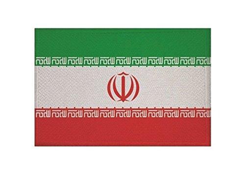 U24 Aufnäher Iran Fahne Flagge Aufbügler Patch 9 x 6 cm