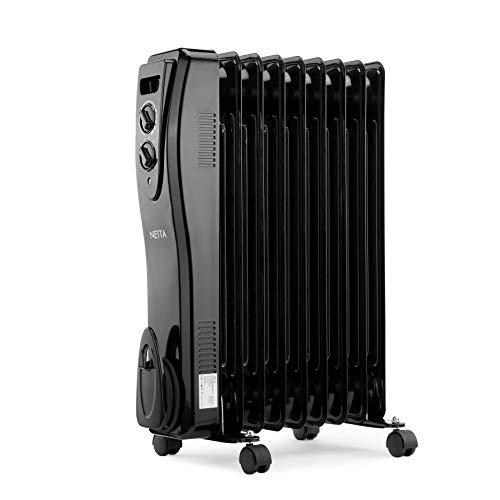 pas cher un bon Refroidisseur à bain d'huile électrique NETTA avec thermostat 2000W-9 pcs
