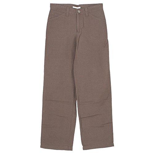 Mac, Cybill, Damen Jeans Hose, Leinenmischgewebe, erdbraun, D 42 L 30 Inch 32 [20499]